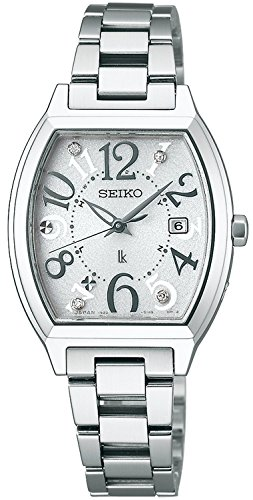 SEIKO watch LUKIA Rukia Solar radio Modify sapphire glass super clear coating SSVW047 Ladies