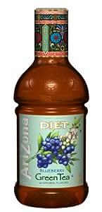 Arizona Diet Blueberry Green Tea, 42-Ounce (Pack of 12)
