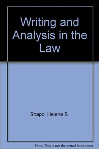 writing and analysis in the law 7th edition pdf