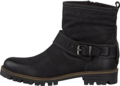 Tamaris 1-25478-23 botines para mujer negro - negro