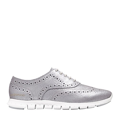 Cole Haan Women's Zerogrand Wing Ox, CH Argento Metallic, 7.5 B US by Cole Haan (Image #1)