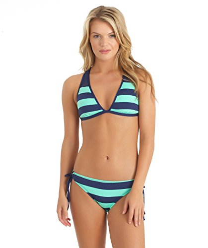 Green Stripe Halter - 7