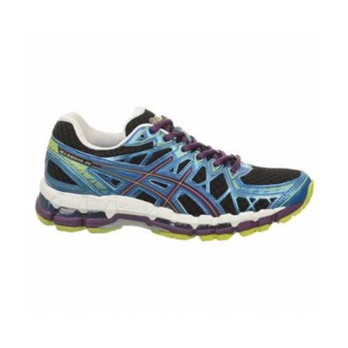ASICS Women's GEL-Kayano 20 Running Shoe (7.5 B(M) US, White/Lightning/Snow)