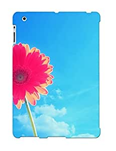 Improviselike High Grade Flexible Tpu Case For Ipad 2/3/4 - Pink Gerbera ( Best Gift Choice For Thanksgiving Day)