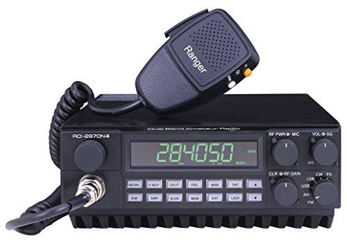RCI 2970N4 DX AM-FM-SSB-CW 10 & 12 Meter Mobile Ra...