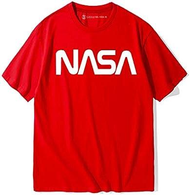 HBBDYZ Camisetas De Cuello Redondo De La NASA para Parejas ...