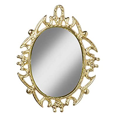 Darice, Timeless Miniatures Gold Oval Mirror: Arts, Crafts & Sewing