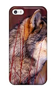 Hot 5632483K71085576 Premium Protective Hard Case For Iphone 5/5s- Nice Design - Wolf
