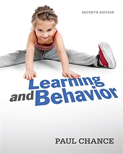 Learning and Behavior by Cengage Learning