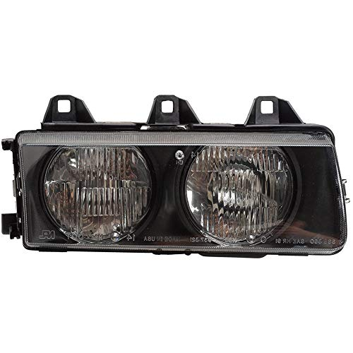 Right Side Headlight Assembly For BMW 318i 325i 318ti 323i 328i is E36 - BuyAutoParts 16-00242AN New