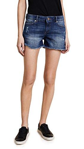 DL1961 Women's Karlie Denim Shorts, Bluegrass, 24 by DL1961