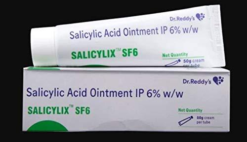 SALICYLIC ACID OINTMENT 6% W/W 50g (SALICYLIX SF6)