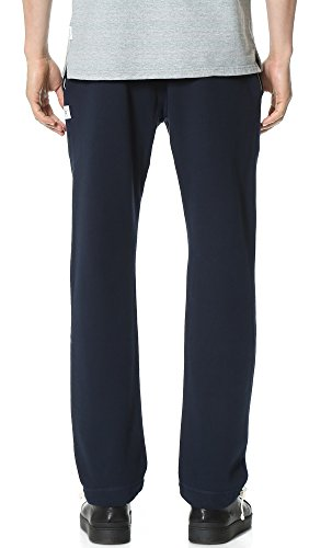 Reigning Champ Men's Mid Weight Terry Sweatpants, Navy, X-Large by Reigning Champ (Image #2)