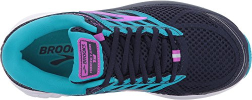 Brooks Women's Addiction 13 Evening Blue/Teal Victory/Purple Cactus Flower 9.5 D US