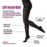 SIGVARIS Women's DYNAVEN Closed Toe Pantyhose