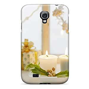 Fashionable Style Case Cover Skin For Galaxy S4- Holidays New Year Wallpapers Christmas Gifts