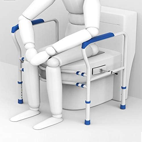 高齢者シニアハンディキャップ障害者のための改良されたトイレの安全フレームRailsのサポートバーは、任意のトイレフィット