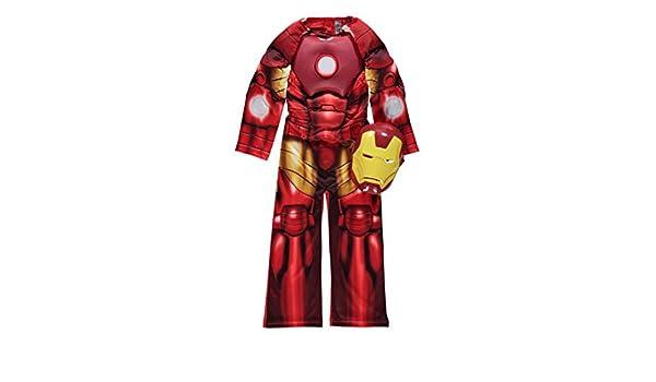 Rubies - Disfraz de Iron Man para niños de 5-6 años, incluye ...
