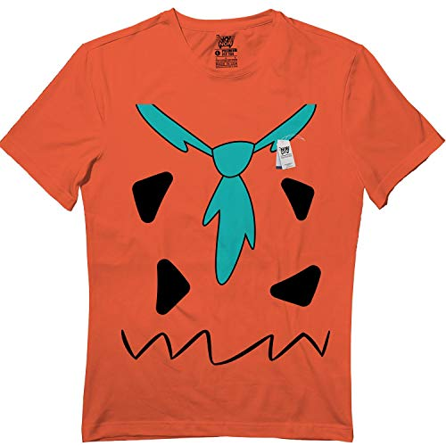 Fred-Costume Halloween Funny Family Matching Youth & Adult Tshirt Orange]()