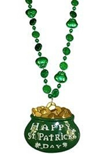 St Patrick's, Shamrock and Pot of Gold Bead with 3