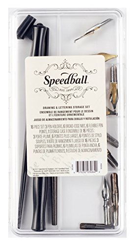 (Speedball Drawing and Lettering Storage Set)