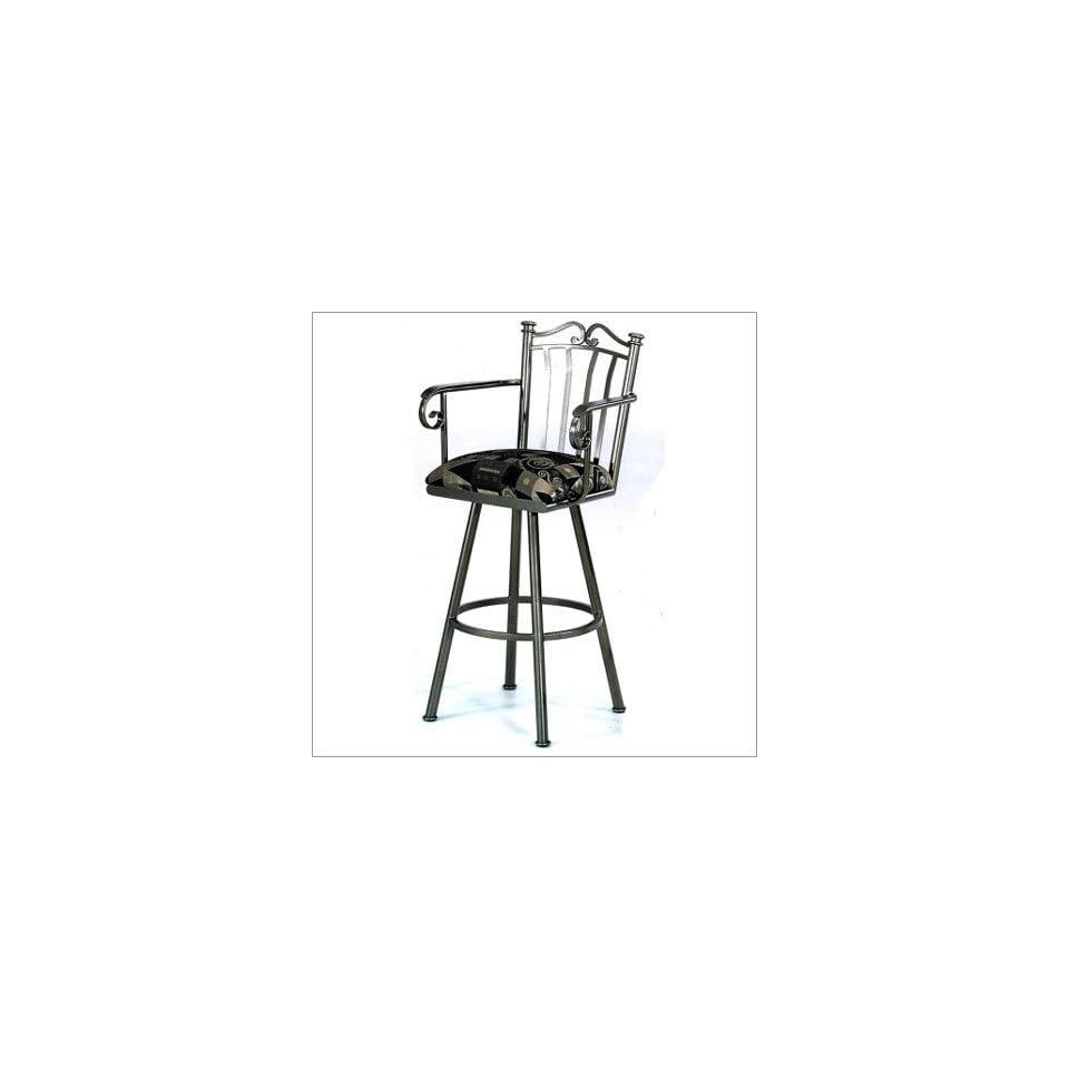 Tempo Custom Tall Stool (59 Fabrics /18 Finishes) Somerset 34 Extra Tall Backless Barstool