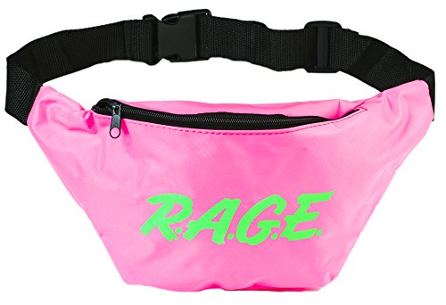 Funny Guy Mugs RAGE Fanny Pack, Neon Pink ()