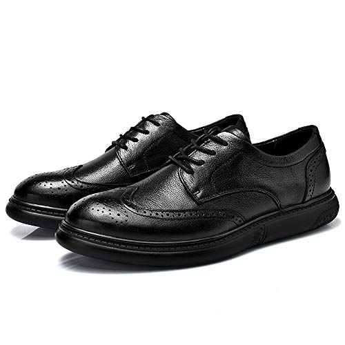 sintetica pelle Fashion Scarpe Color scamosciate Business Nero Sunny 42 Comfort EU pizzo da Resistente amp;Baby in Ccasual Dimensione in massaggio Oxford Nero Men's all'abrasione xCqXx7w4P