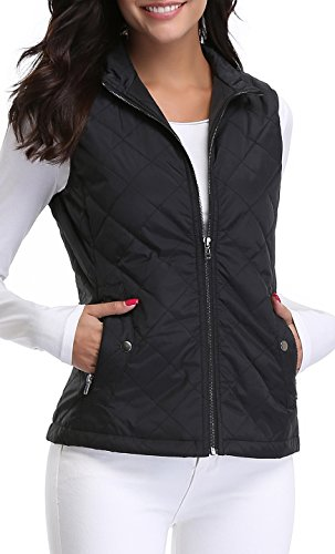 Quilted Puffer Vest - 7