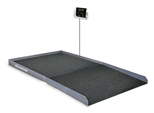 Rice Lake SB-1150 Bariatric Digital Physician's Wheelchair Weigh Scale