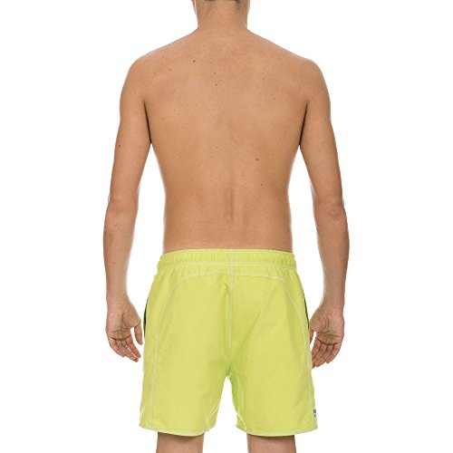 Arena Short de bain Fundamentals Solid Boxer, Soft Green/Royal 3 x l, 40515
