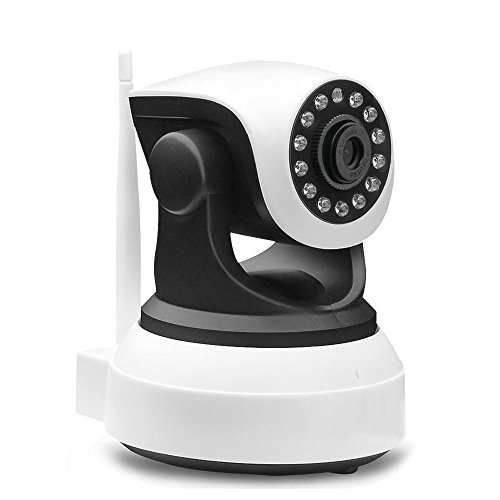 Security camera wireless- home wifi IP Surveillance HD Night Vision Wide Angle for Baby Pet Monitoring by Seawit