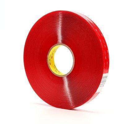 3M VHB Tape 4910 Clear 1/2 Inch x 36 Yard 40.0 Mil (1-Roll)