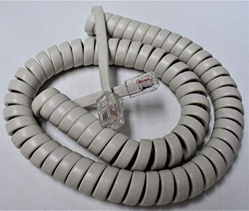 - Off White Short (9' Ft) Handset Cord for Clarity Phone Alto-Plus P300 P400 XL 30 40 40D 45 45D 50sII 50 Ameriphone C200 C210 C320 C35 JV-35 C W 1000 Alto Big Button E814CC by DIY-BizPhones