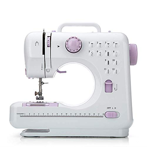 Chooling Sewing Machine (12 Stitches, 2 Speeds, Foot Pedal, LED Sewing Lamp) – Small Household Electric Overlock Sewing Machines CL-033-B