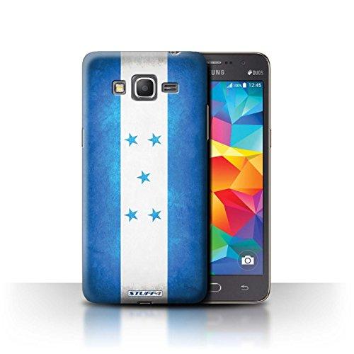 STUFF4 Phone Case / Cover for Samsung Galaxy Grand Prime / Honduras/Honduran Design / Flags Collection