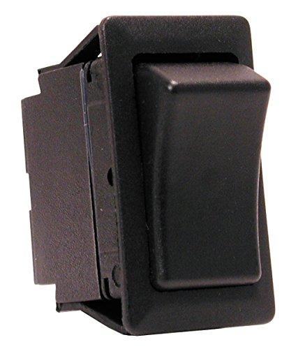 Scion OEM Style Rocker Switch (used for: Scion tC xB xA, Toyota 4Runner FJ Cruiser Celica Matrix Tacoma Tundra Landcruiser, Nissan Frontier, Lexus IS300 SC300 SC400) - Without Light - On/Off