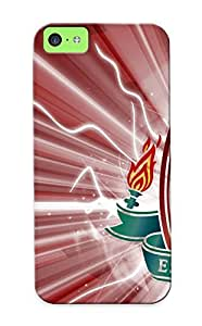 Awesome StOqfL-2883-Odyjr Turnleft Defender Tpu Hard Case Cover For Iphone 5c- Liverpool Football Club