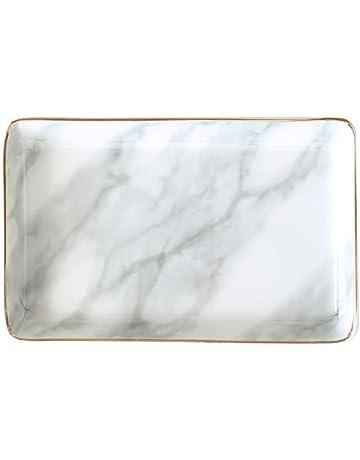 plateau /à bijoux anneau noir plateau organisateur plateau commode d/écor cl/é plat bijoux bol d/écoratif plat ovale