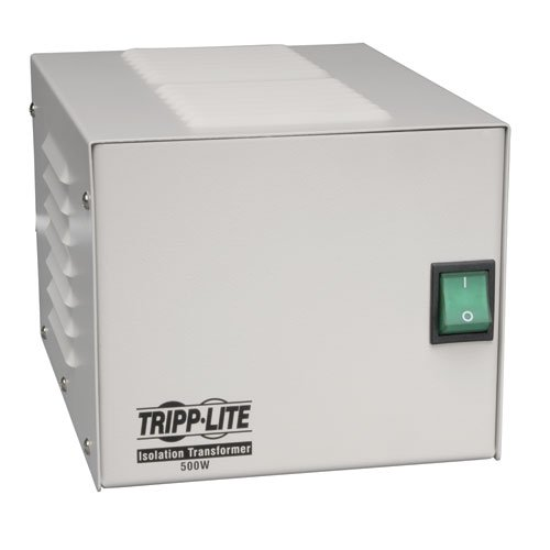 Tripp Lite IS500HG Isolation Transformer 500W Medical Surge 120V 4 Outlet TAA GSA
