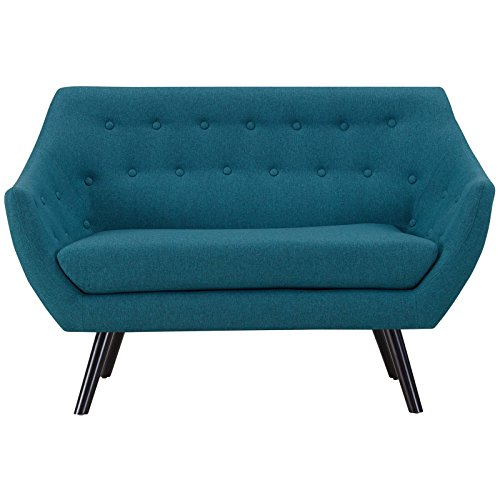 Modway EEI-2550-TEA Allegory, Loveseat, Teal