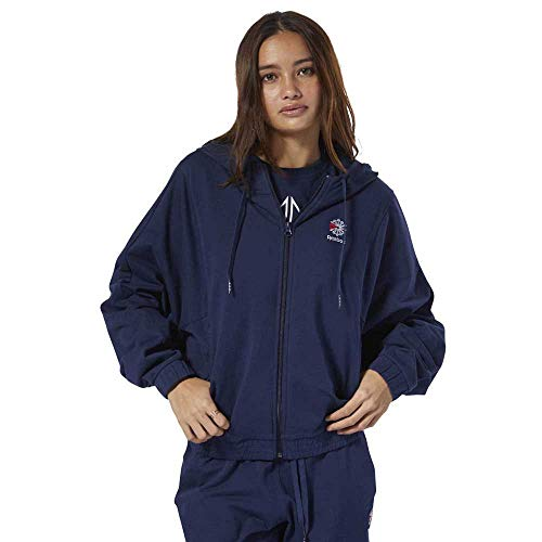 Reebok And Foundation S Classics Collegiate Hoodies Navy Sweatshirts Female UwUzr