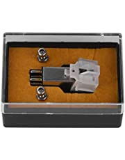 Bewinner Draaitafel Pick Up Phonograph Needle magneetpatroon, 13 mm met LP vinylnaalden voor platenspeler, met een hoge mate van nauwkeurigheid, produceert een uitstekend geluid.