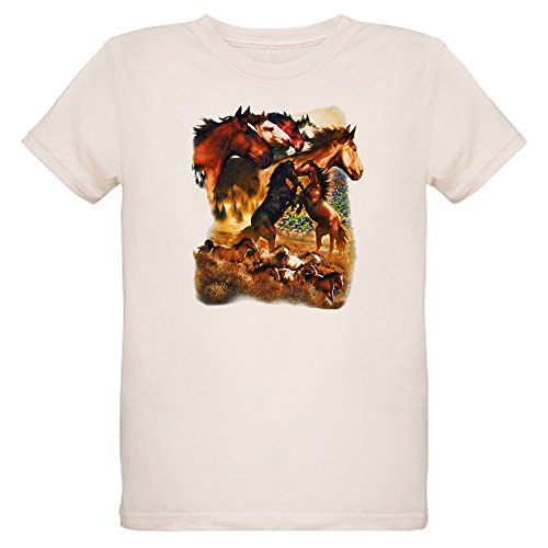 - Royal Lion Organic Kids T-Shirt Wild Horses - Small (8 Yrs)