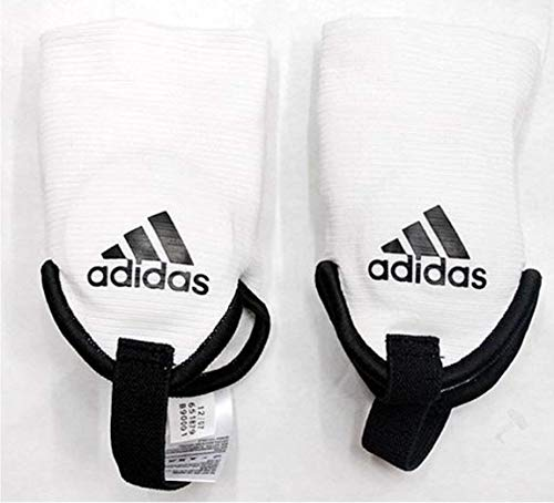 Adidas Ankle Guard Brace Shield Protector Dual Sided for Soccer Football ()