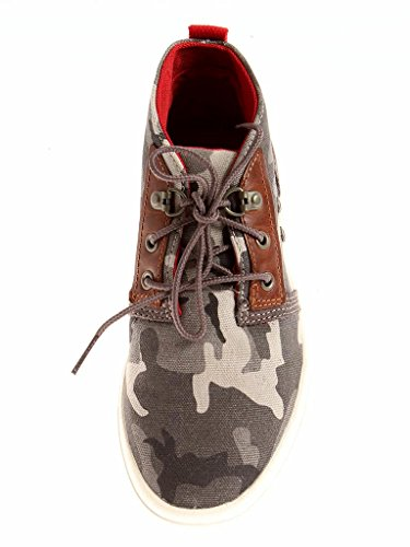 Chukka TIMBERLAND TOILE Camouflage FEMMES hautes femmes Amherst Baskets a16lb CHAUSSURES qq74PEwr