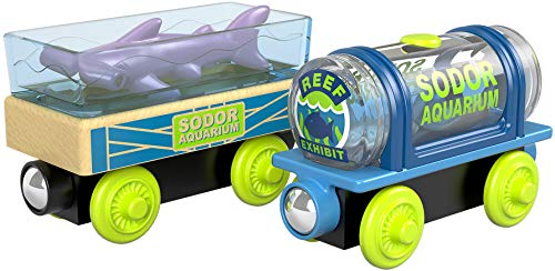 Thomas & Friends Fisher-Price Wood, Aquarium - Aquarium Thomas Wooden Railway