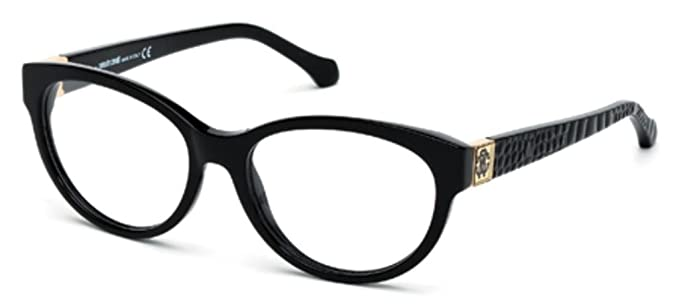 Roberto Cavalli Women\'s RC0756 Acetate Frames BLACK 54 at Amazon ...
