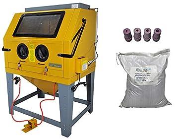 Máquina de chorro de arena con aspirador 220 V: Amazon.es: Bricolaje y herramientas