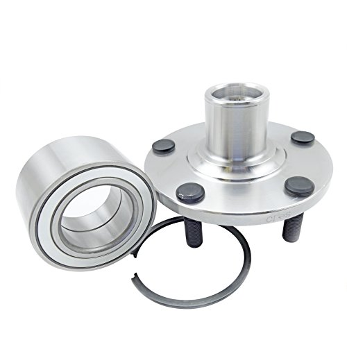 CRS NT518516 New Wheel Bearing Hub Assembly, Front Left (Driver)/ Right (Passenger), for 2000-2004 Infinity I30/ I35, FWD, 2000-2008 Nissan Maxima, 2002-2006 Nissan Altima (1 Pack)